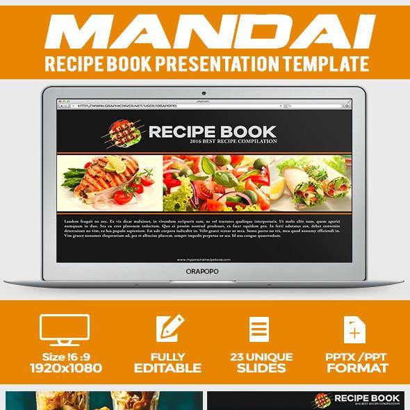 Mandai ~ Recipe Book Presentation Template