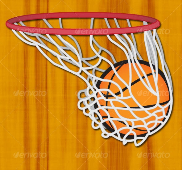 Basketball Hoop & Ball - Sports/Activity Conceptual