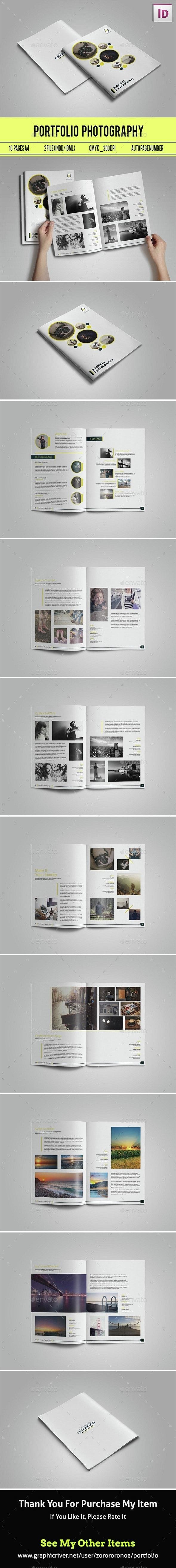 Clean Potrait Portfolio - Portfolio Brochures