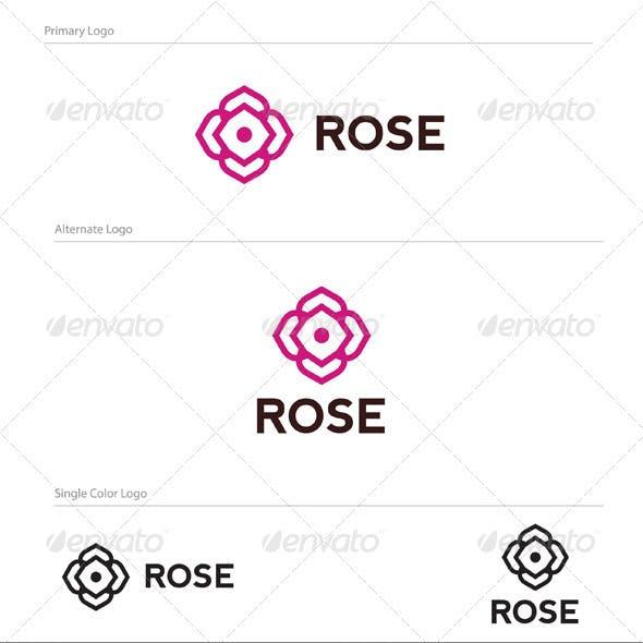 Rose Logo Design - NAT-005