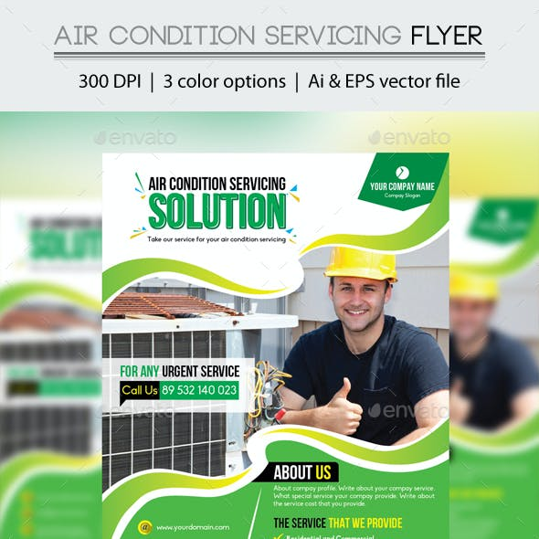 Air Condition Servicing Flyer