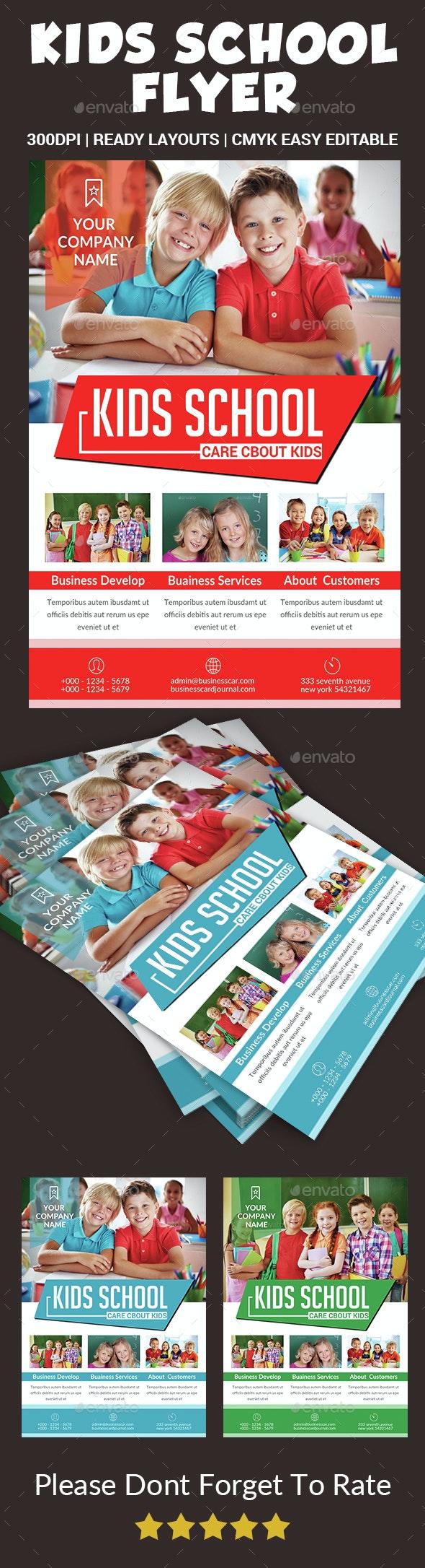 Kids Education Flyer - Corporate Flyers
