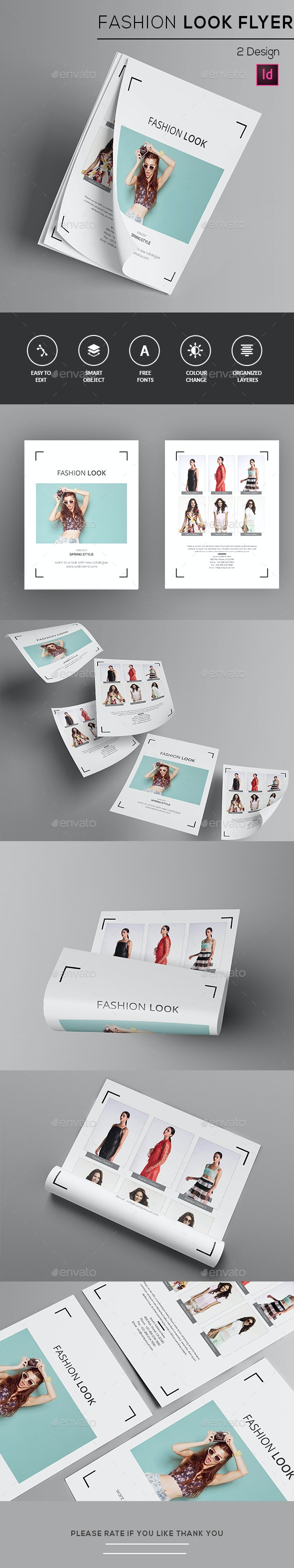Fashion Look Flyer  - Commerce Flyers