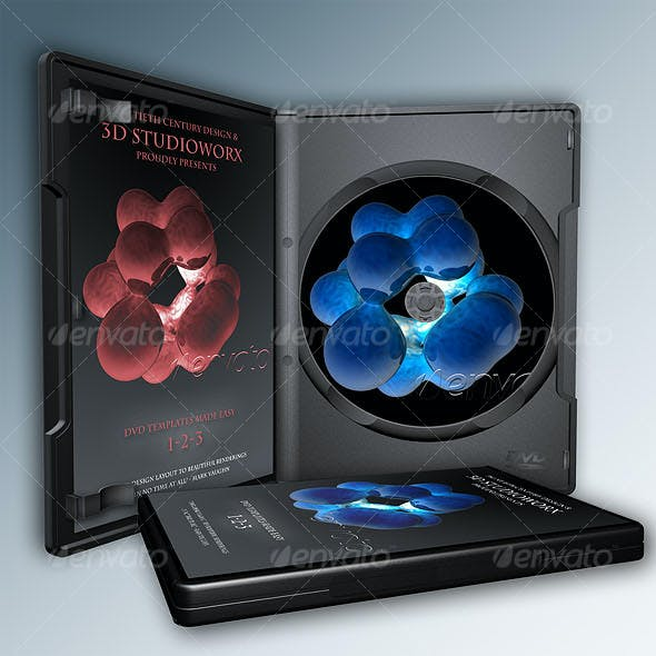 7-in-1 3D DVD Templates the EASY WAY
