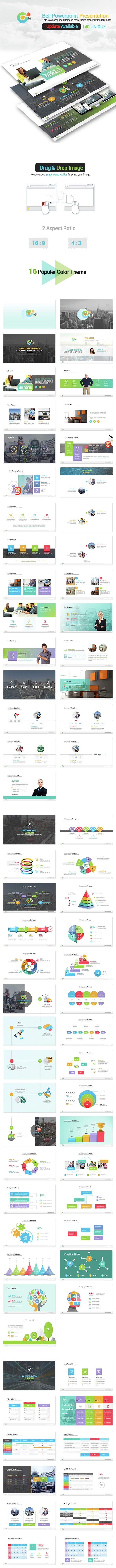 Bell- Business Powerpoint Presentation - Business PowerPoint Templates
