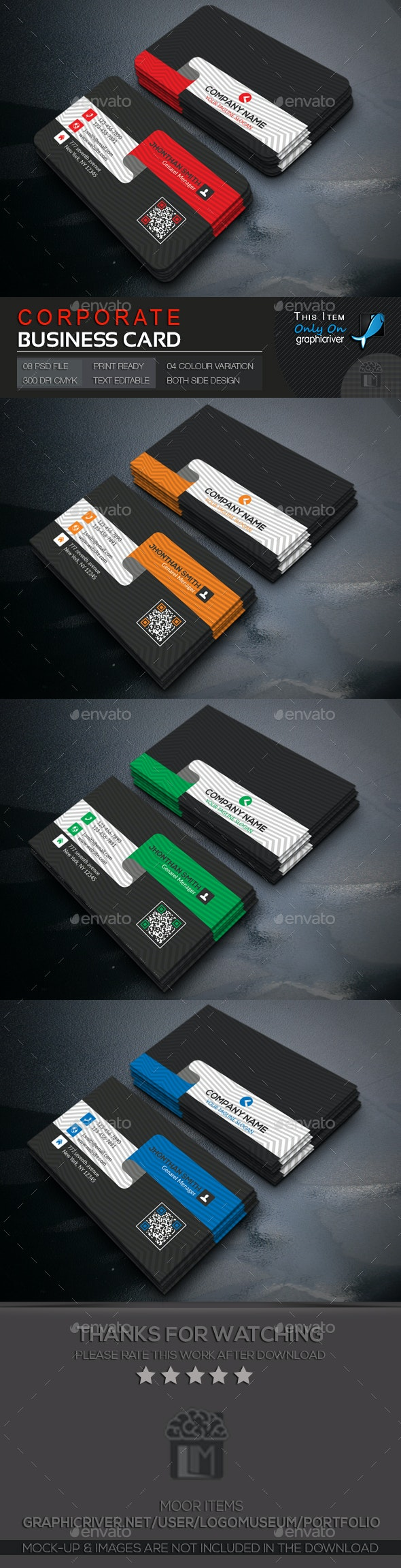 Corporate Business Card - Creative Business Cards