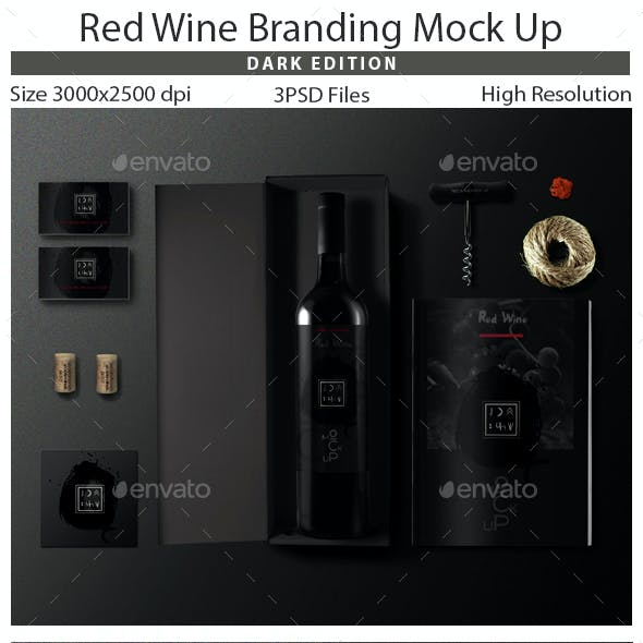 Wine Branding Mock Up