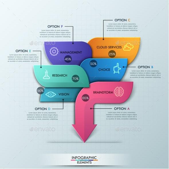 Modern Arrow Business Template - Infographics