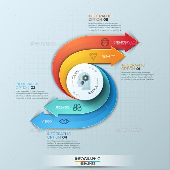 Creativity Infographic Templates from GraphicRiver