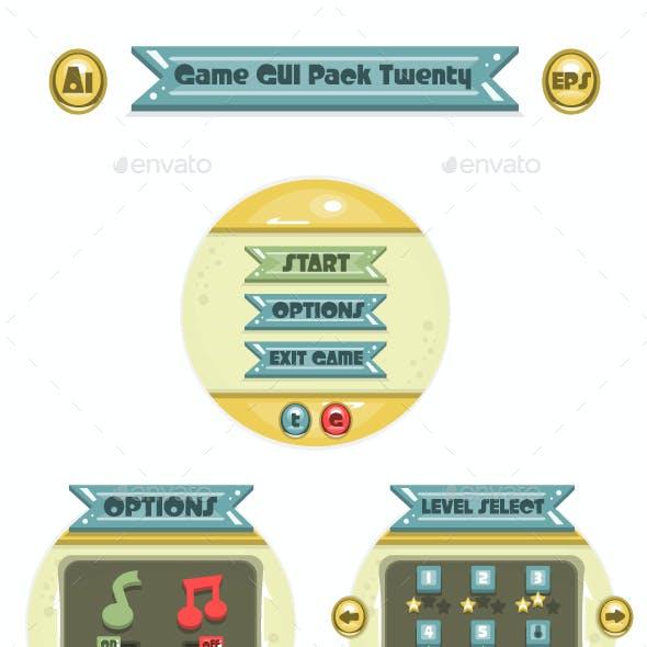Game GUI Pack Twenty