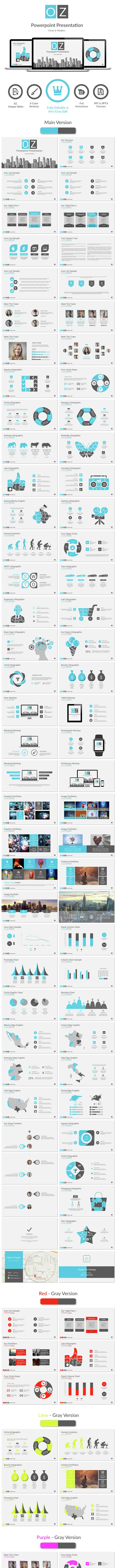 OZ Powerpoint - Business PowerPoint Templates