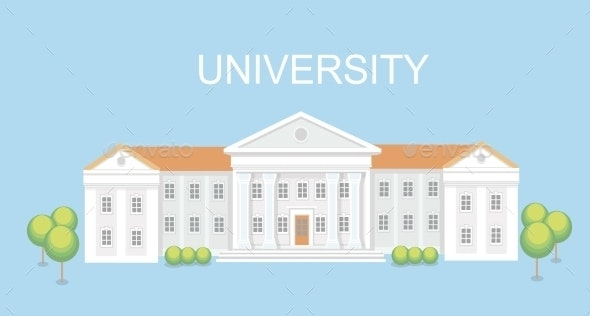 University or College Building - Buildings Objects