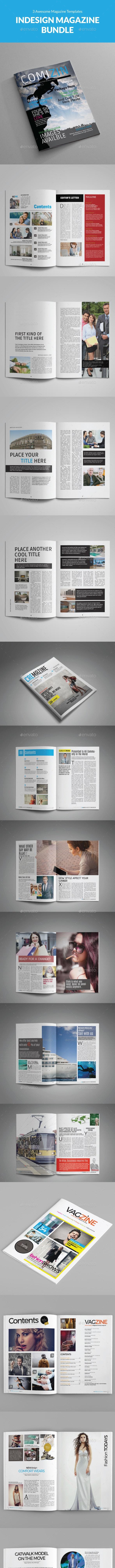 Magazine Bundle Vol.04 - Magazines Print Templates