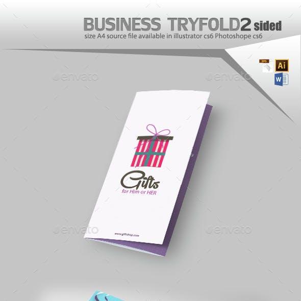 Gift Shop Tri fold Brochure