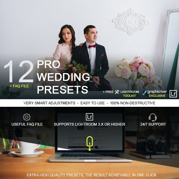 Wedding Lightroom Presets from GraphicRiver