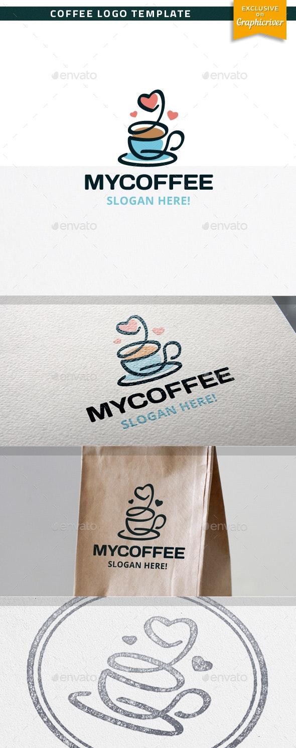 MyCoffee - Food Logo Templates