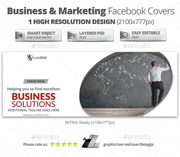 Business & Marketing Facebook Covers - Facebook Timeline Covers Social Media