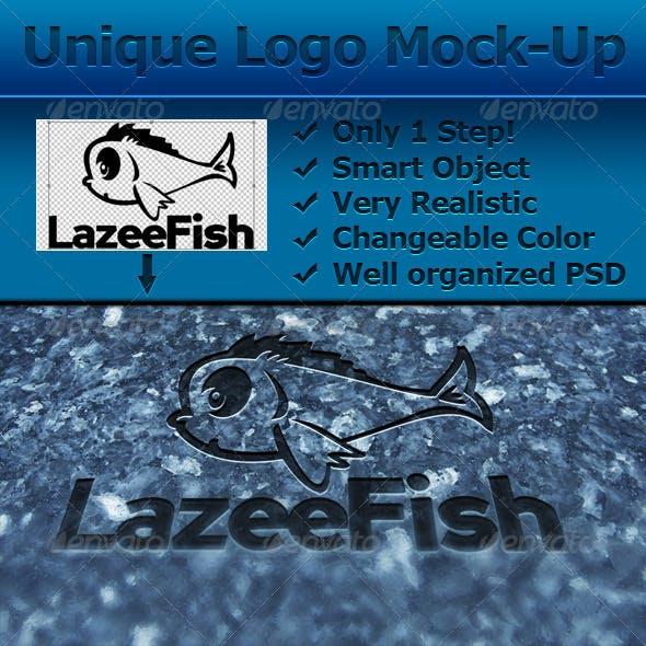 Unique Logo/Product Mock-Up