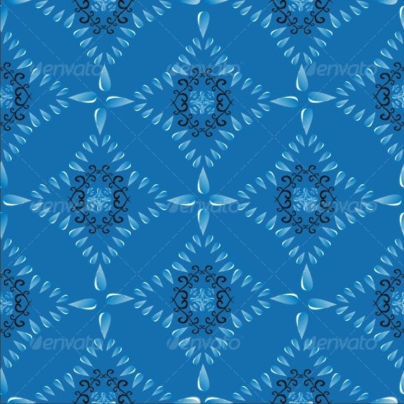 seamless drops pattern