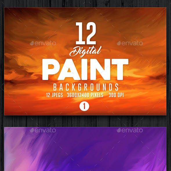 Paint Backgrounds 1