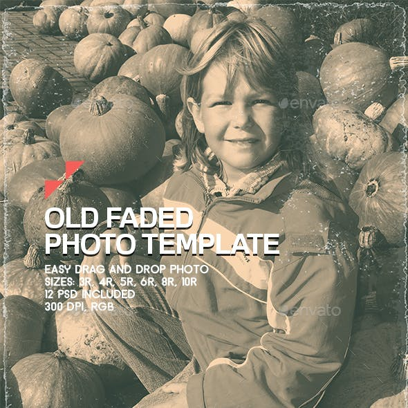 Old Faded - Photo Template