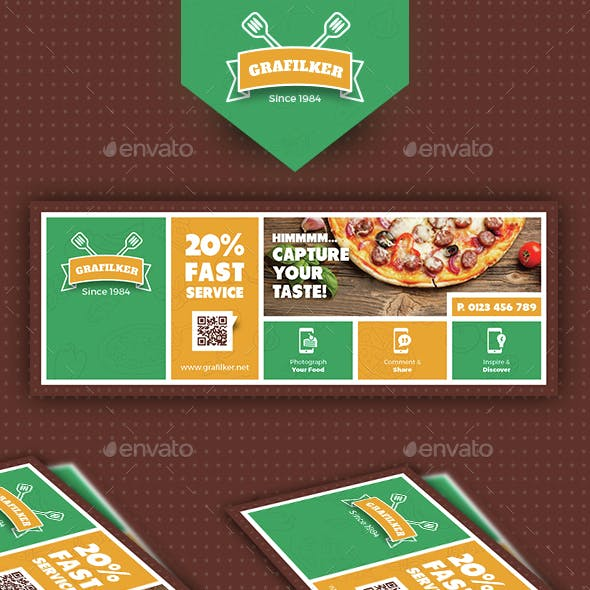 Pizza Shop Cover Templates