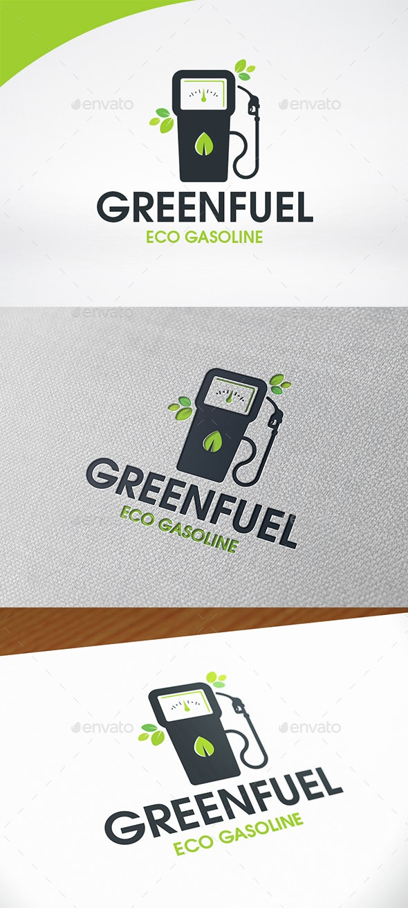 Eco Gasoline Logo Template - Objects Logo Templates