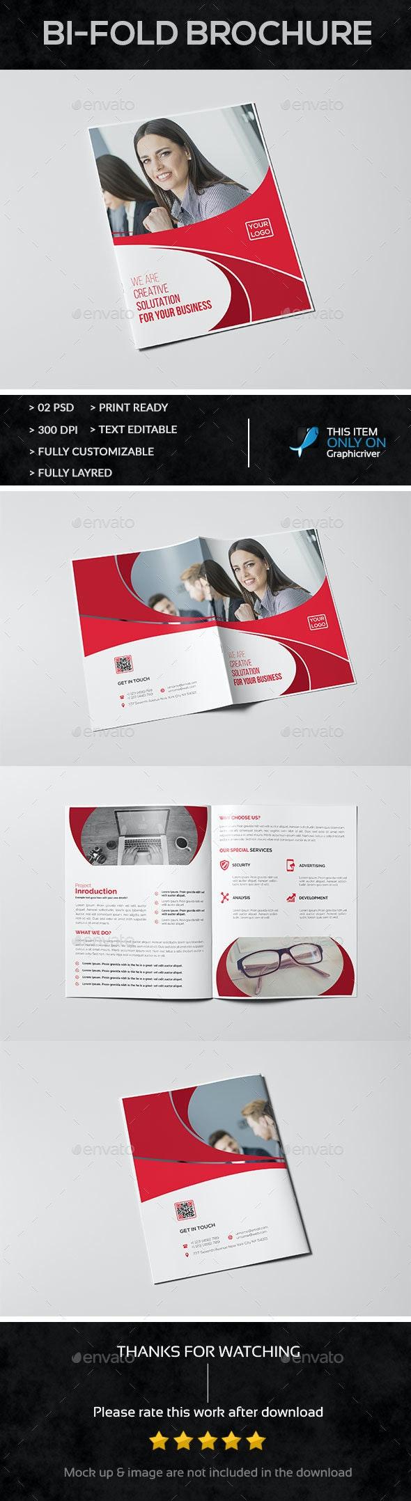 Corporate Bifold Brochure - Brochures Print Templates