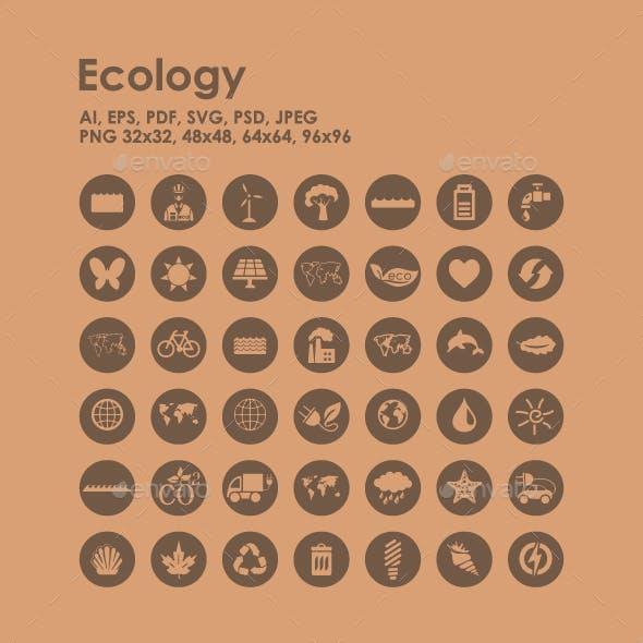 42 Ecology icons