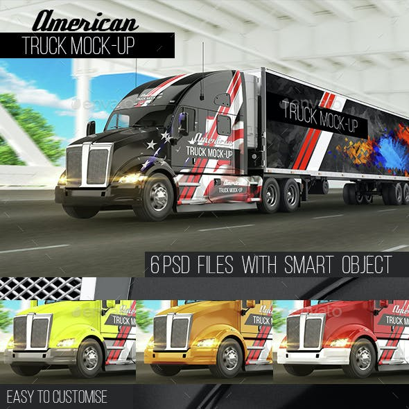 American Truck Mock-Up