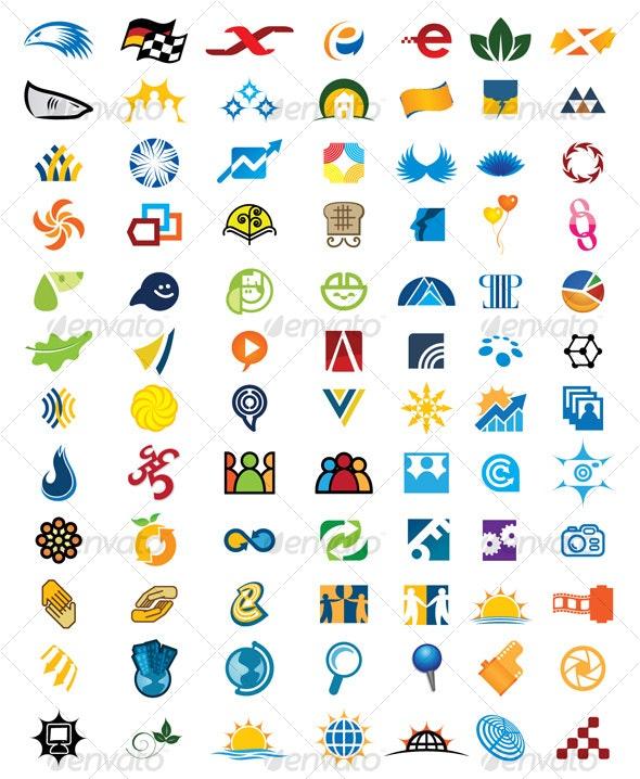 84 Icons  - Miscellaneous Icons
