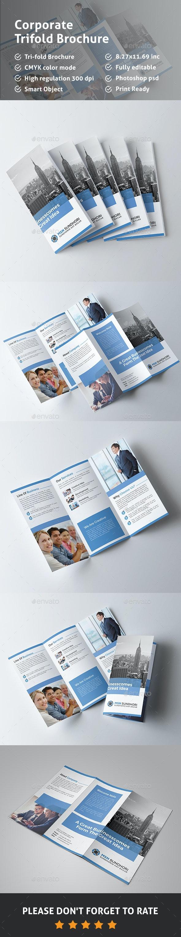 Tri-fold Brochure - Corporate Brochures