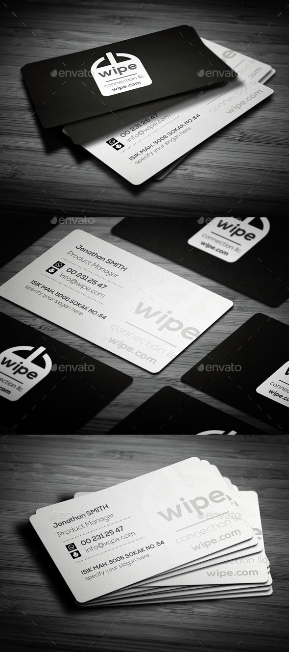 Rounded Corner Business Card - Creative Business Cards