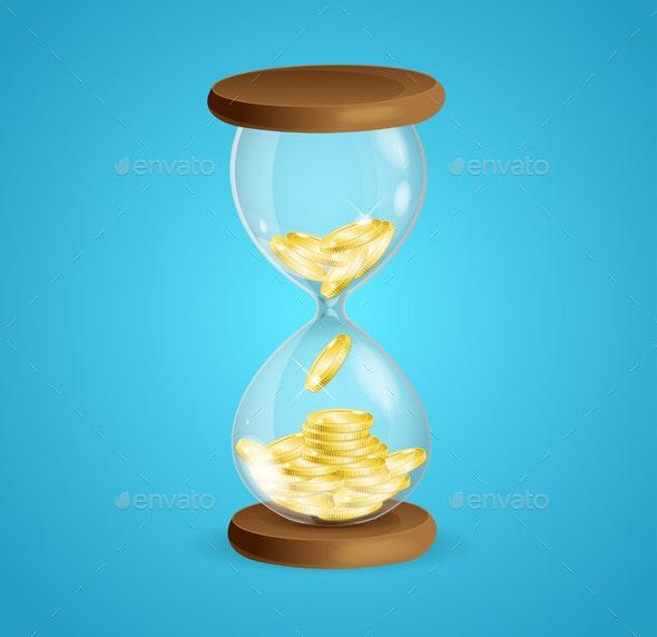 Time is Money Concept - Miscellaneous Conceptual