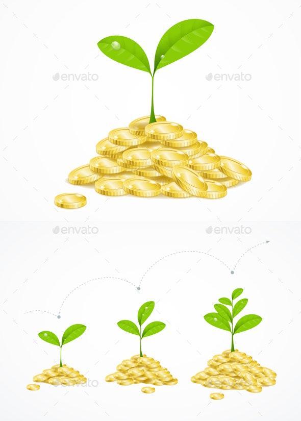 Money Tree Concept - Miscellaneous Conceptual