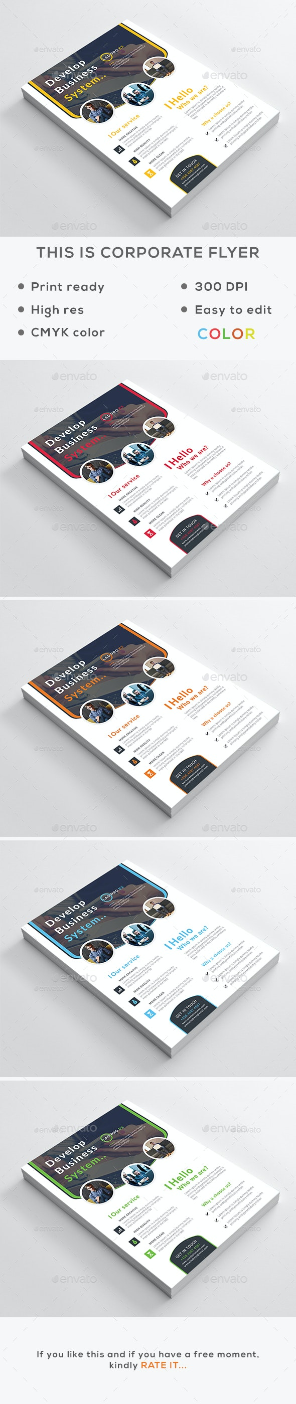 Corporate Flyer V2 - Corporate Flyers