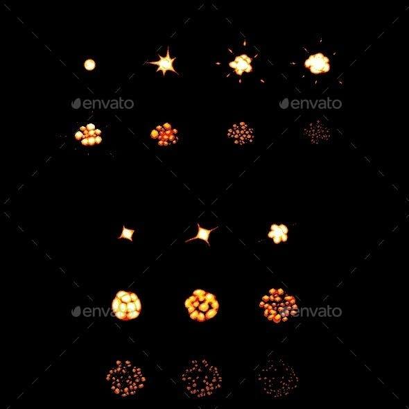 Pixel Explosion Set