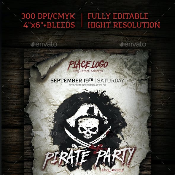 Pirate Day Party