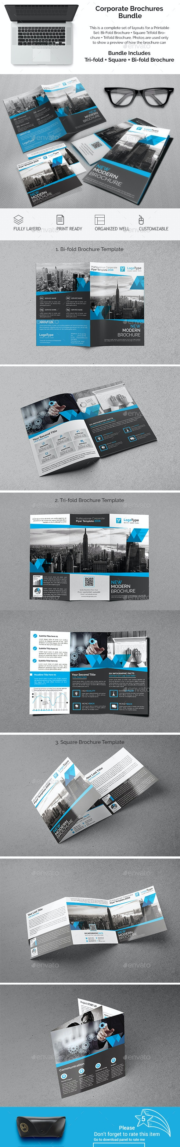Corporate Brochures Bundle 06 - Catalogs Brochures