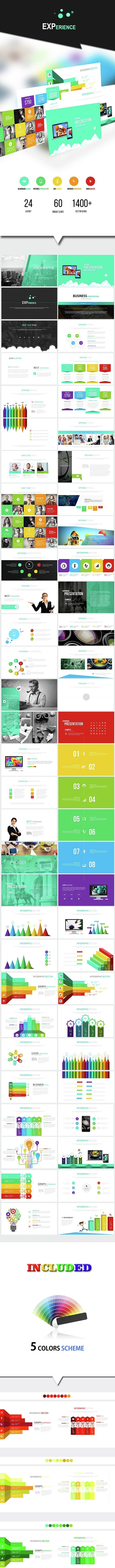 EXPERIENCE - Keynote Presentation Template - Business Keynote Templates