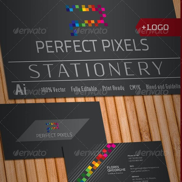 Perfect Pixels Stationery