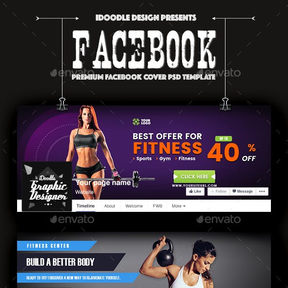 Promotion Facebook Covers - 66 PSD