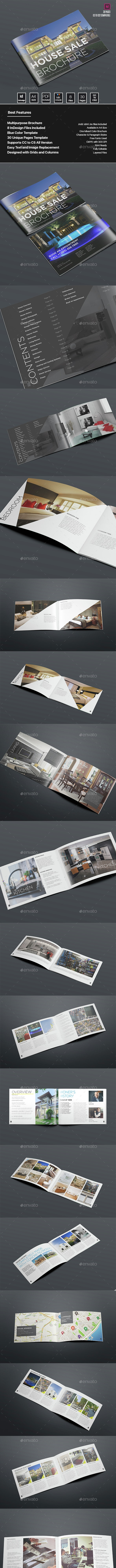 Real Estate and Property Sell Brochure - Brochures Print Templates