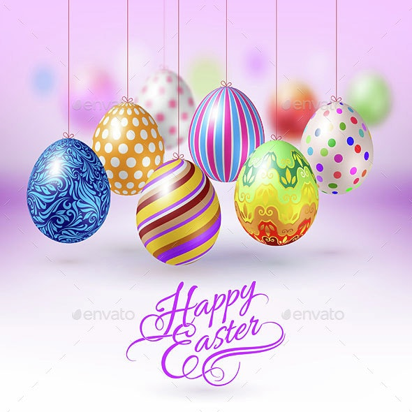 Happy Easter Greeting Card - Miscellaneous Seasons/Holidays