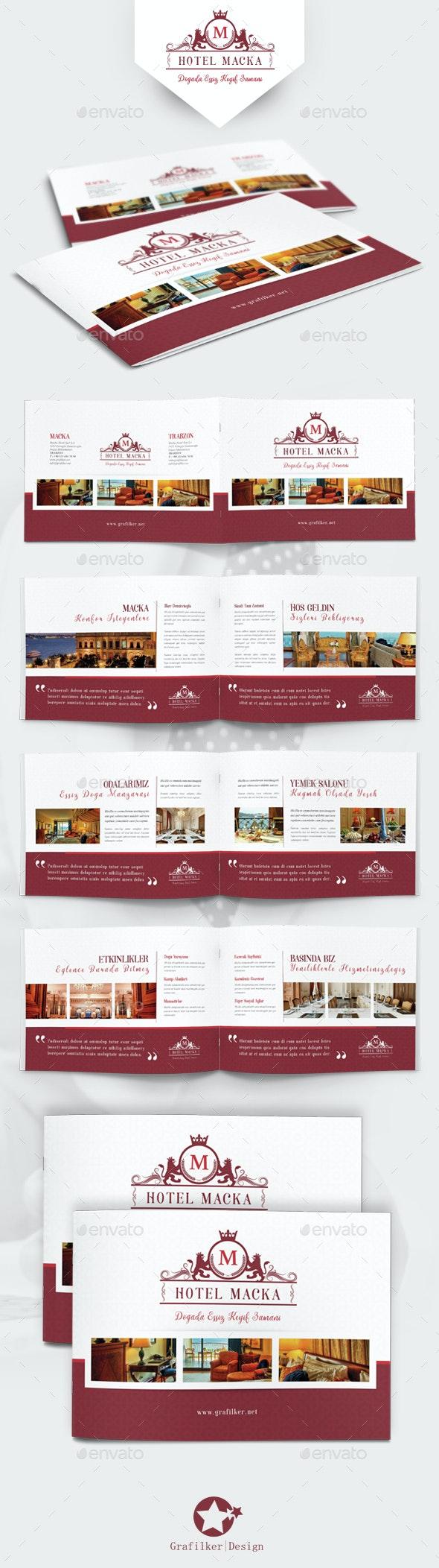 Hotel Brochure Templates - Corporate Brochures