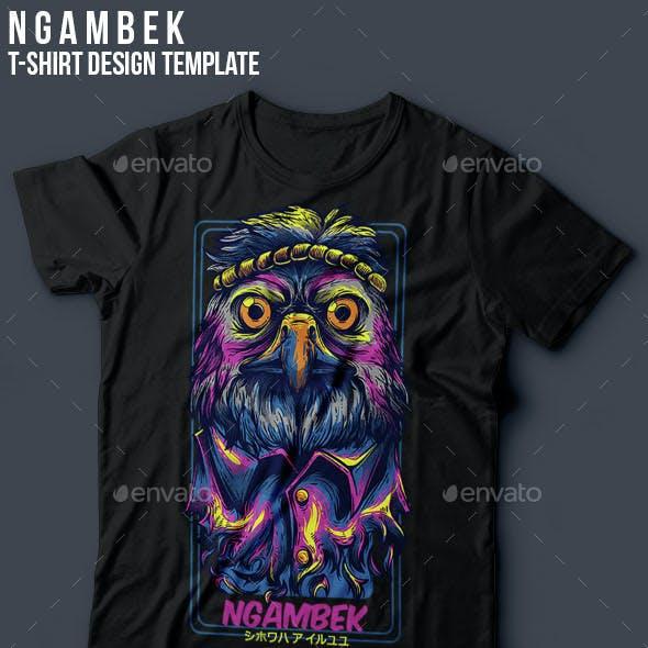 Ngambek T-Shirt Design