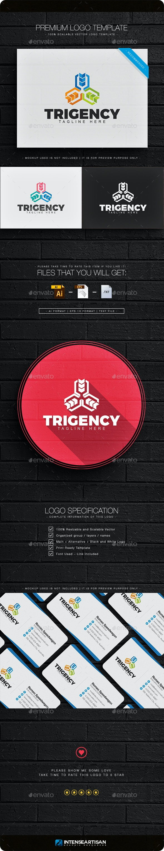 Trigency Logo - Objects Logo Templates