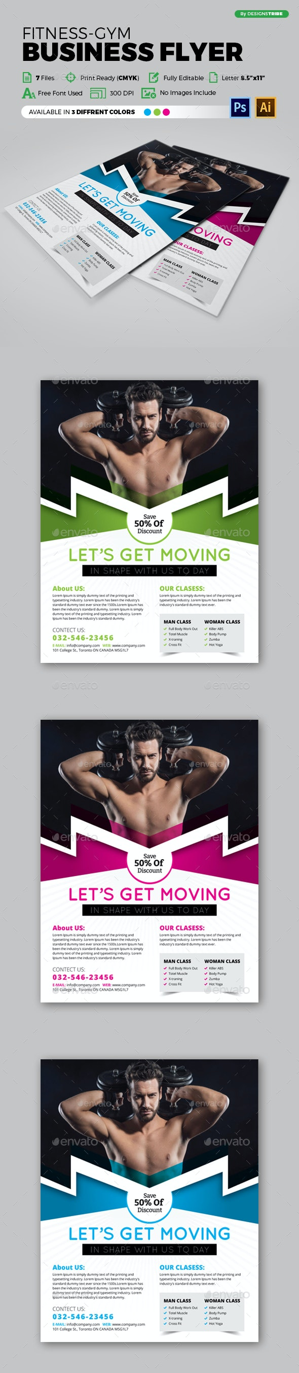 Flyer – Multipurpose 142 - Flyers Print Templates