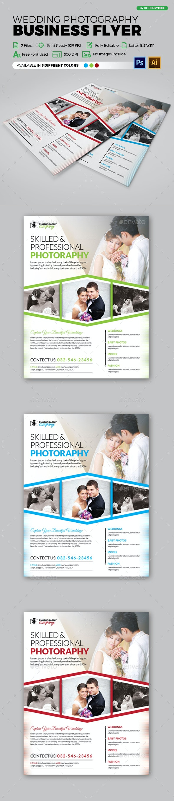 Flyer – Multipurpose 144 - Flyers Print Templates