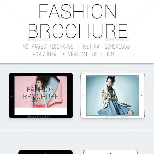 Ipad&Tablet Fashion Brochure
